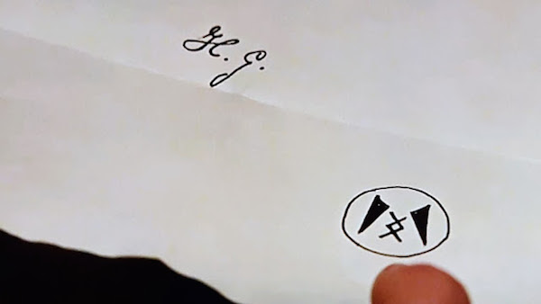 I can't say for sure, but it seems unlikely that the symbol below H.G.'s signature has anything to do with Rittenhouse.