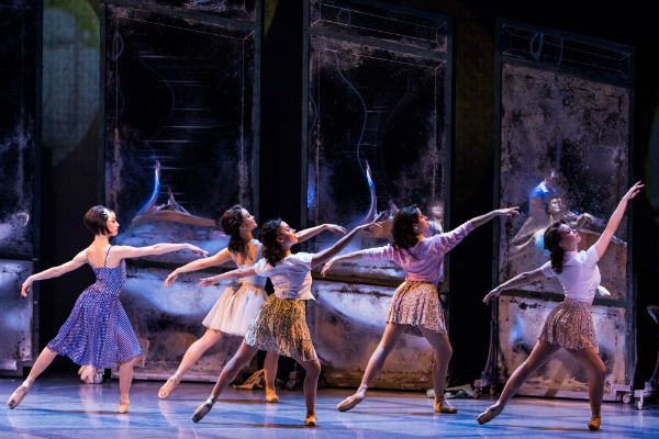Sara Esty and company dance in An American in Paris, Photo by Matthew Murphy