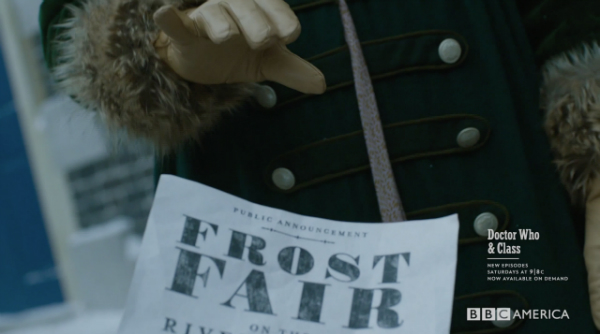 DOCTOR WHO THIN ICE FROST FAIR