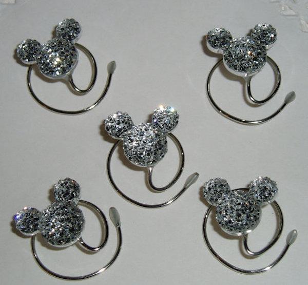 Mickey Hair Swirls