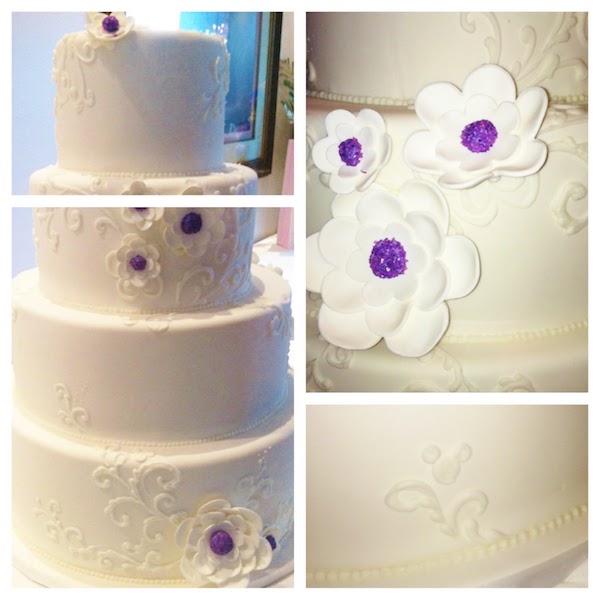 Mickey Swirl Dot Cake