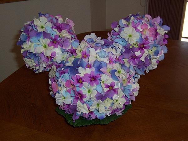 Purple Mickey Pomander