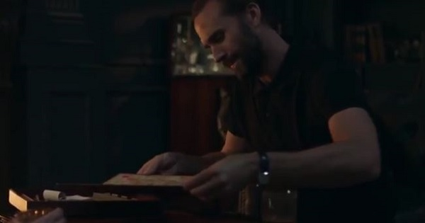 The Handmaid's Tale -Fred and Offred play Scrabble