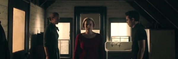 The Handmaid's Tale - Offred Serena Joy Nick in his room