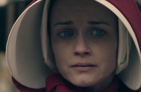 The Handmaid's Tale - Ofsteven at outdoor market