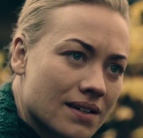 The Handmaid's Tale - Serena Joy in the garden