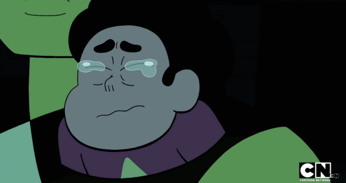 Steven Universe Stuck Together Steven Cries