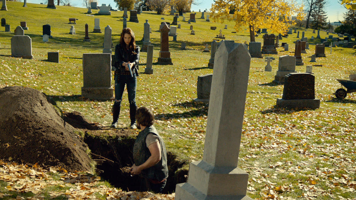 Wynonna Earp Leavin On Your Mind Marty at Cemetery