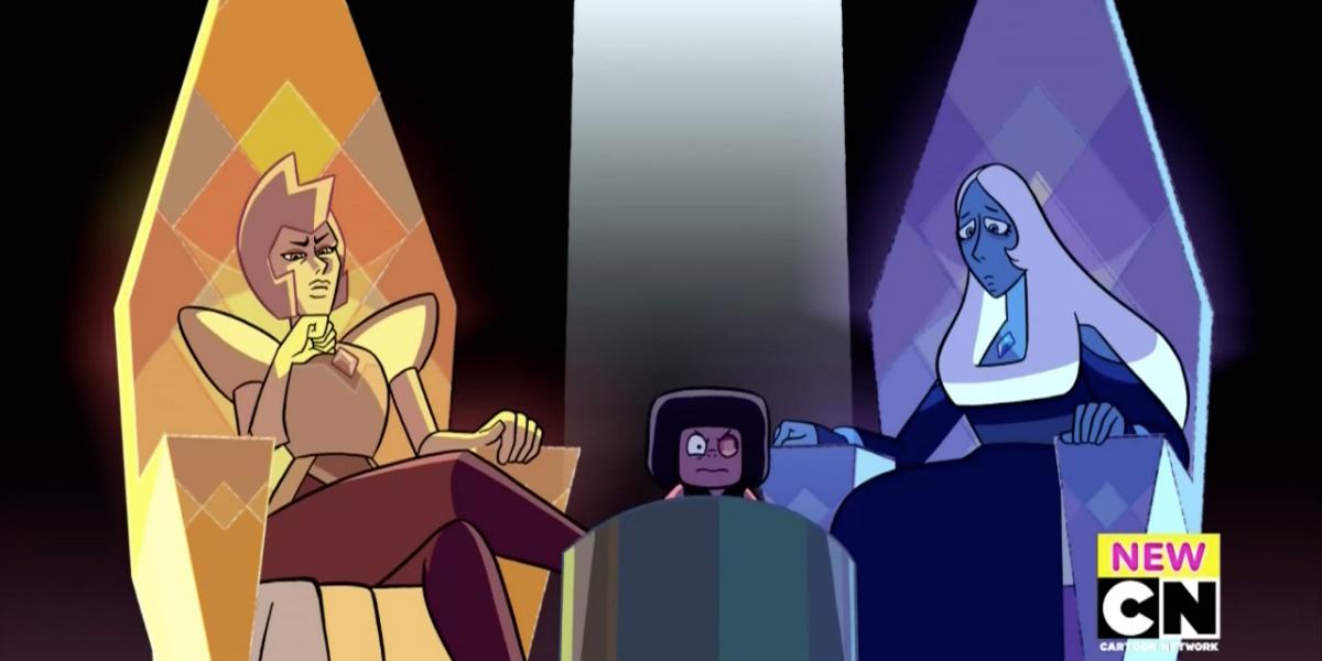 steven universe trial diamonds ruby eyeball