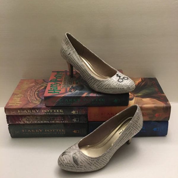Grab Some Comfy Old Shoes Crafting Glue And A Book Thats Seen Better Days Prepare To DIY The Bridal Of Your Dreams Or You Can Totally Buy Them