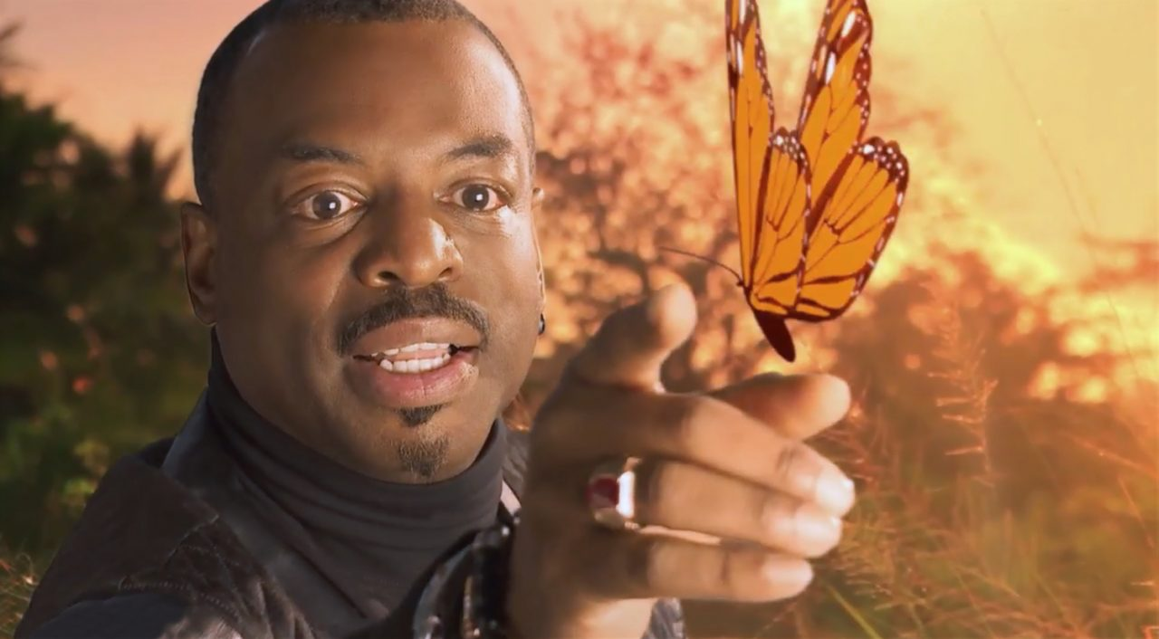 LeVar Burton Reads Reading Rainbow Butterfly