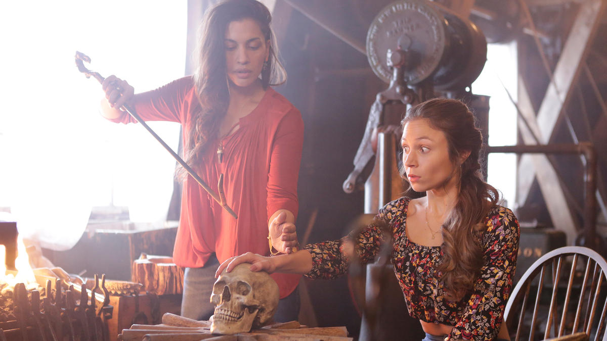 Wynonna Earp Constant Cravings Blacksmith Blessing Waverly Keeper of the Bones