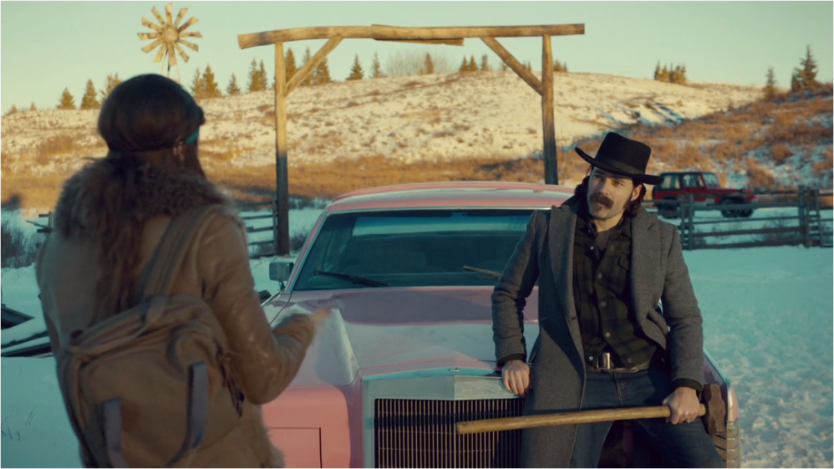 Wynonna Earp She Wouldn't Be Gone Doc Holliday and Waverly Earp Talk About Cadillac