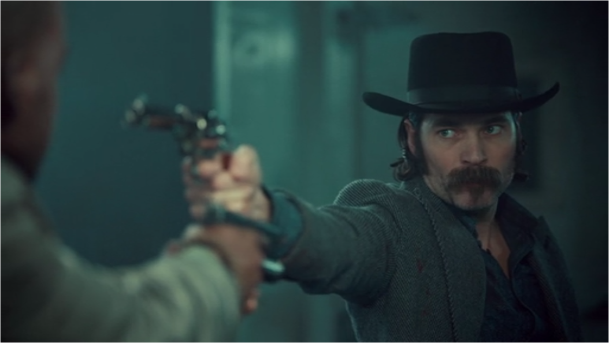 Wynonna Earp Two-Faced Jack Doc Holliday and Agent Dolls in Standoff
