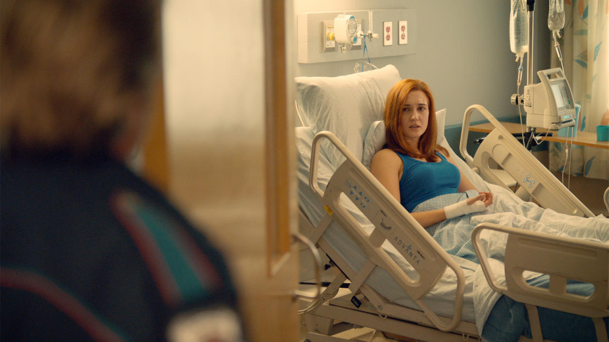 Wynonna Earp Two Faced Jack Officer Nichole Haught in the Hospital