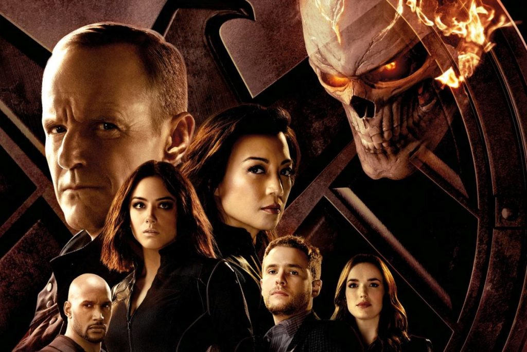 agents of shield season 4 ghost rider poster cropped
