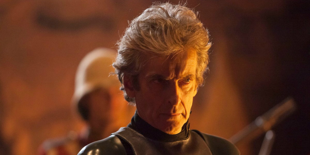 doctor who peter capaldi mad face