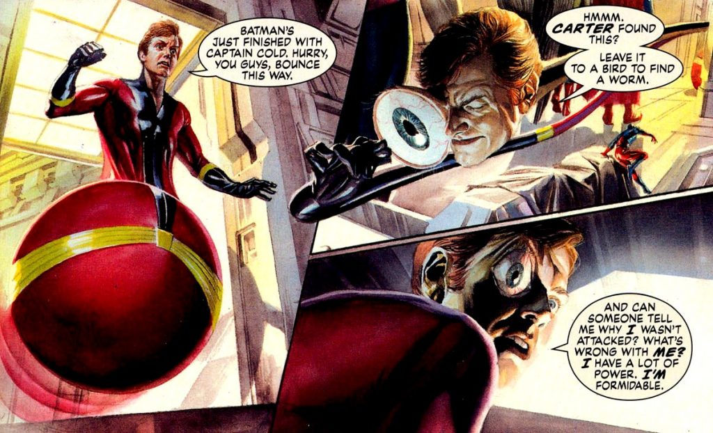The Flash Finds Their Elongated Man