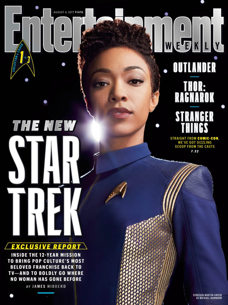 Geek Girl Authority Ready Room Star Trek Discovery Entertainment Weekly Cover