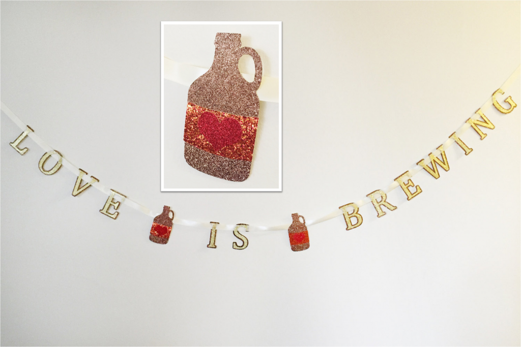 Wynonna Earp Geeky Baby Shower Love is Brewing Banner By Milk Tea Mochi Designs etsy