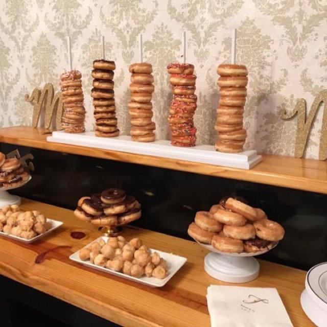 Geeky Baby Shower Wynonna Earp Donut Stand By DandJLollipopStands etsy