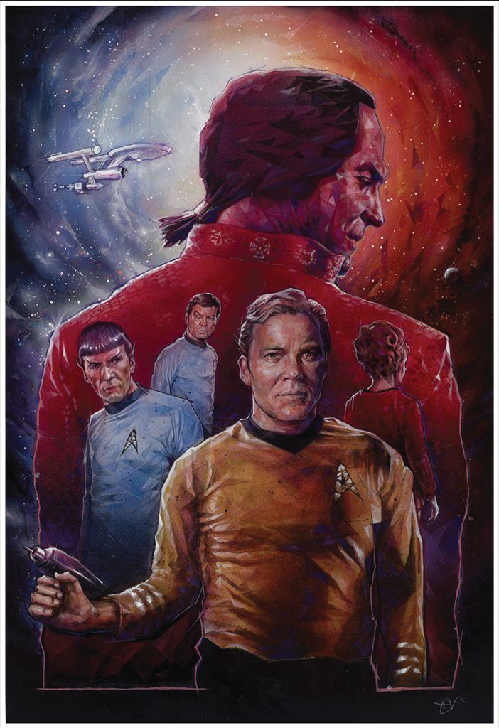 """Space Seed"" by Dave Merrell, Star Trek 50th Anniversary"