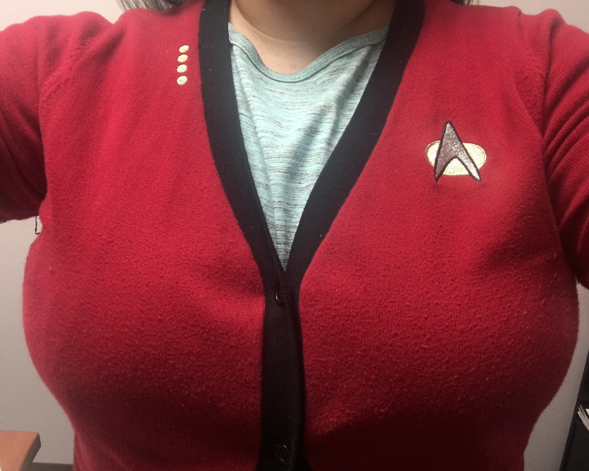 Geek Girl Authority Closet Picardigan by Her Universe