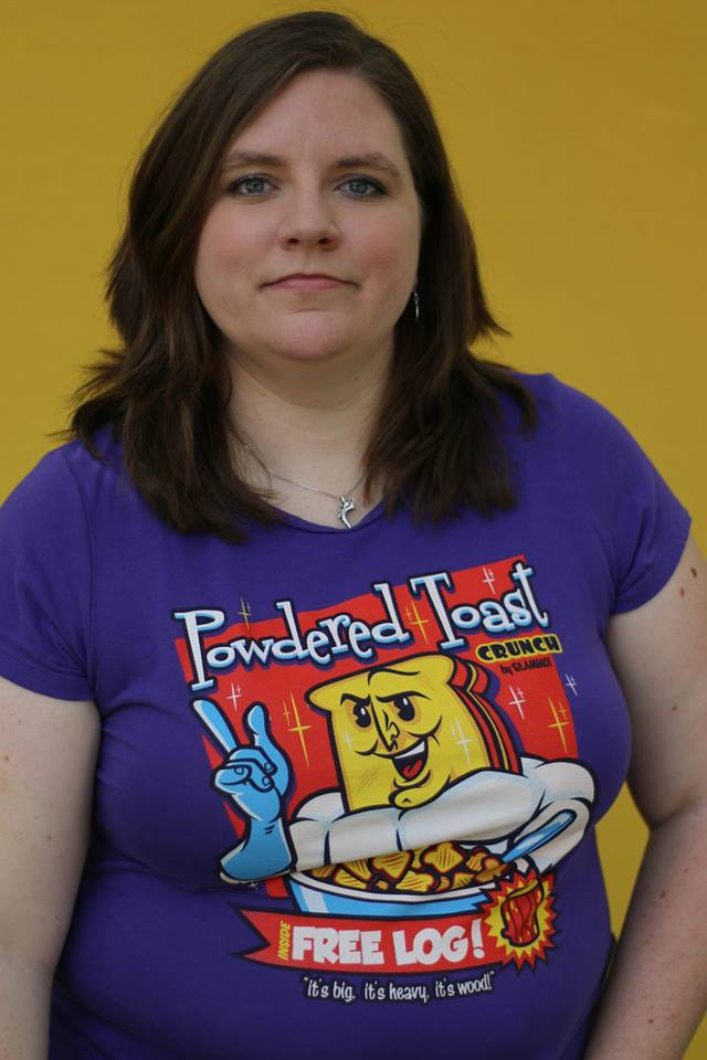 Geek Girl Authority Closet Powdered Toast Crunch Man by TeeFury