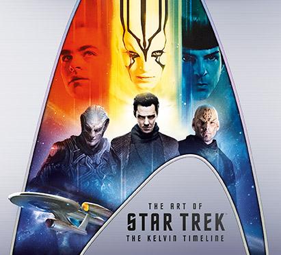 Geek Girl Authority Ready Room the Art Of Star Trek: the Kelvin Timeline Book Cover