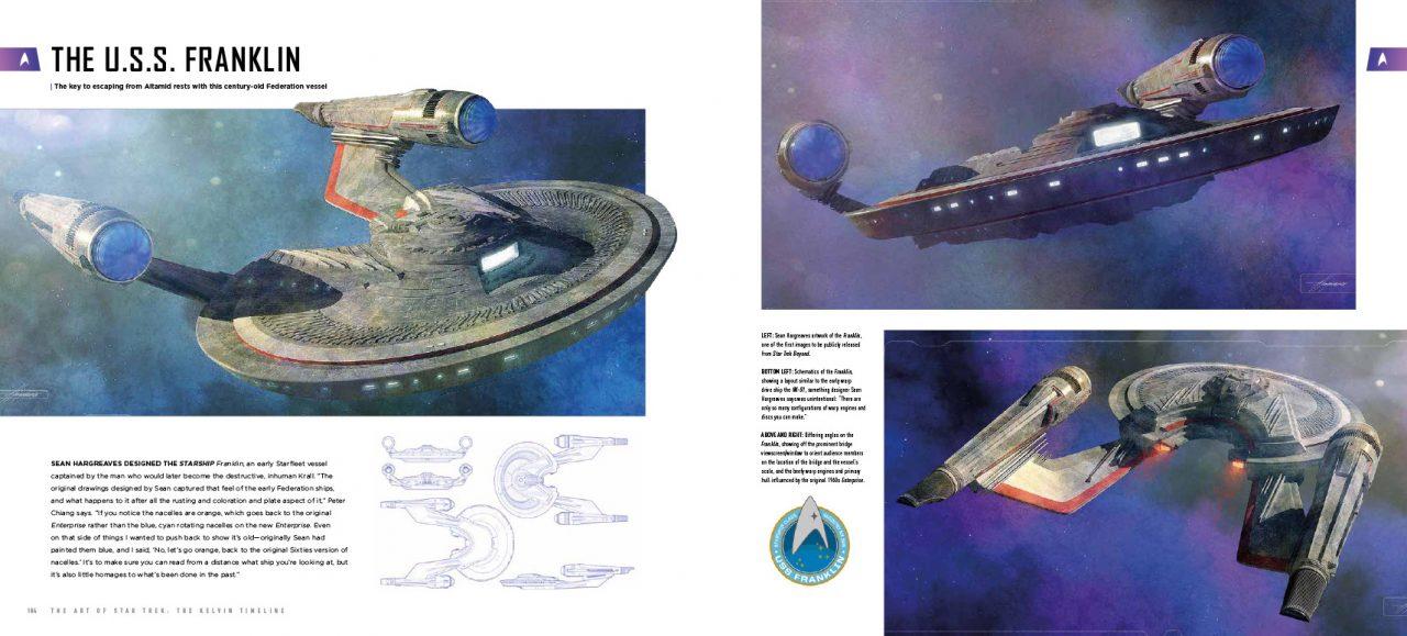 Geek Girl Authority Ready Room the Art Of Star Trek: the Kelvin Timeline USS Franklin