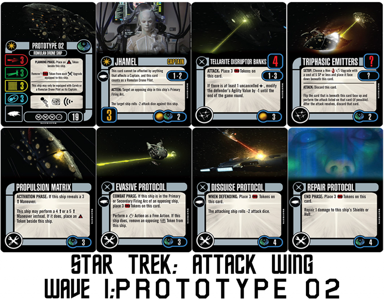 Geek Girl Authority Ready Room Star Trek Attack Wing Wave 1 Preview Prototype 02