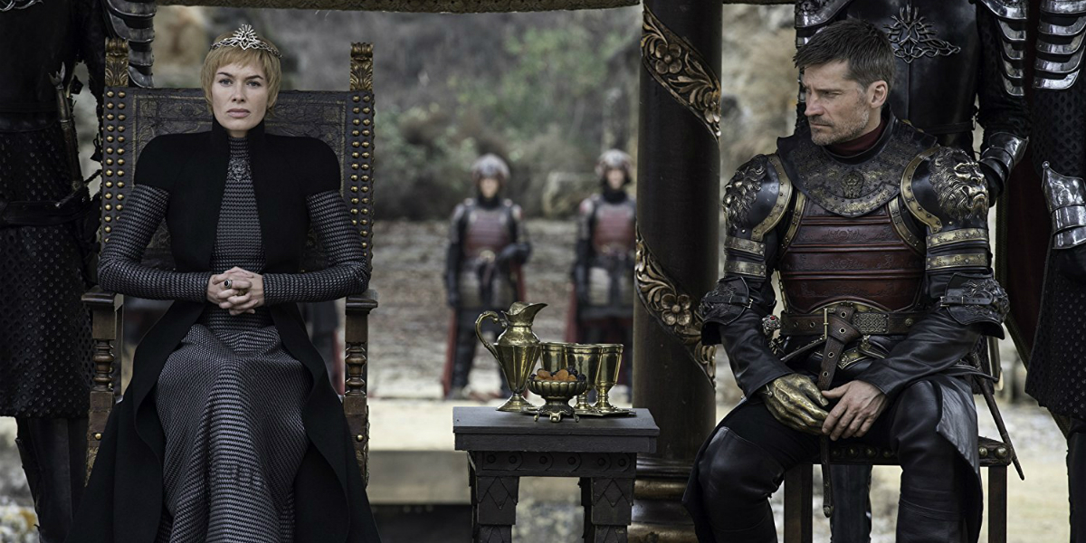 Jaime Cersei Lannister GOT Season 7 Finale