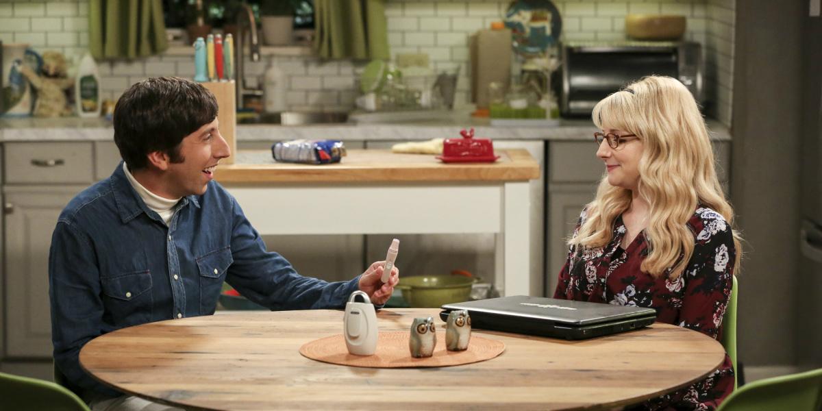 Melissa Rauch Simon Helberg Big Bang Theory
