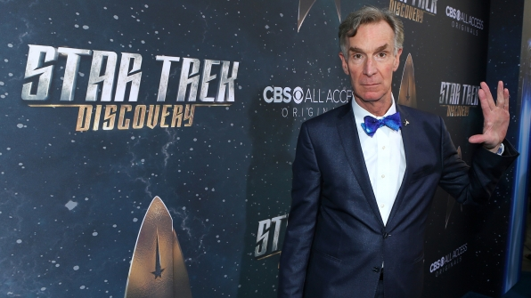 Star Trek Discovery Red Carpet Premiere Bill Nye
