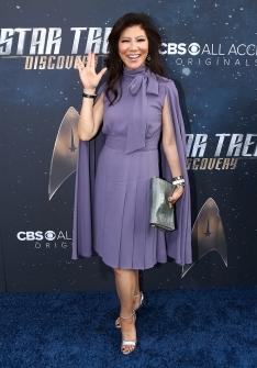 Star Trek Discovery Red Carpet Premiere Julie Chen
