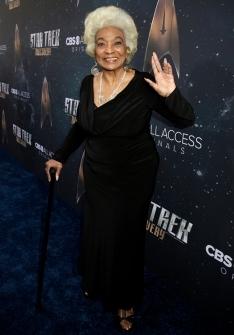 Star Trek Discovery Red Carpet Premiere Nichelle Nichols