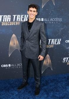 Star Trek Discovery Red Carpet Premiere Sam Vartholomeo