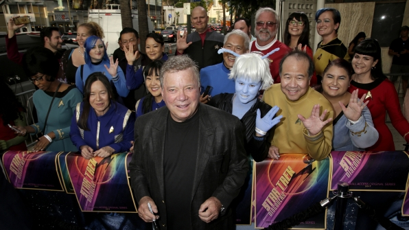 Star Trek Discovery Red Carpet Premiere William Shatner