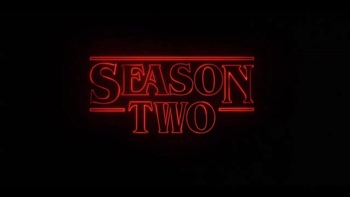 Stranger Things 2 Netflix October 2017
