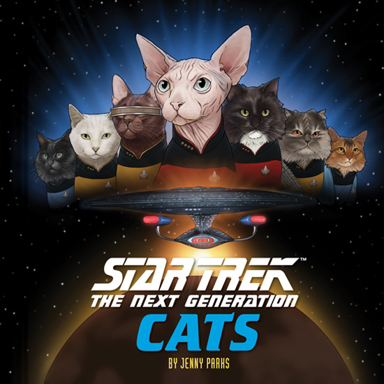 Geek Girl Authority Ready Room Star Trek The Next Generation Cats Chronicle Books