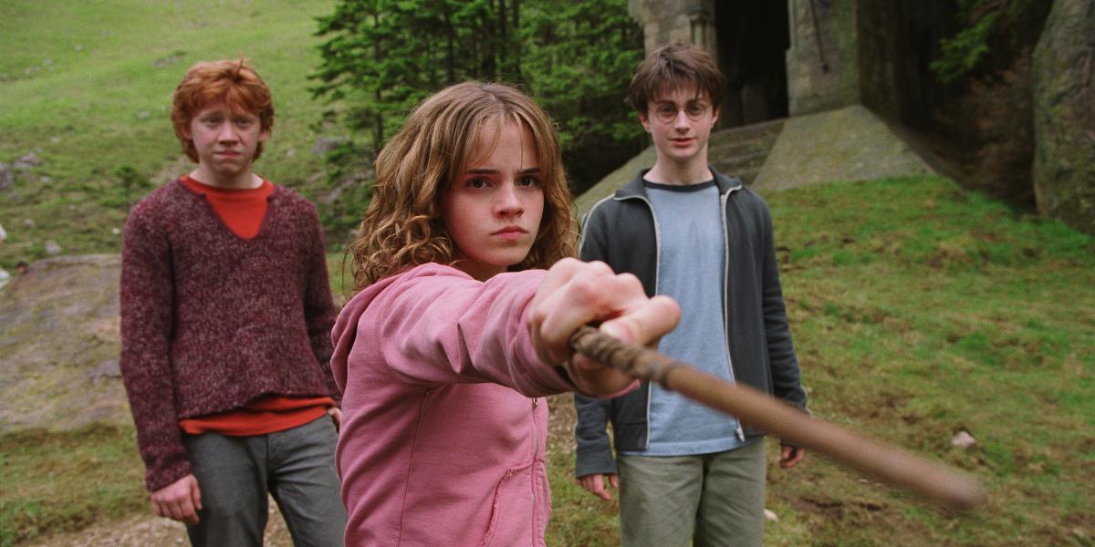 Hermione Ron Harry Azkaban