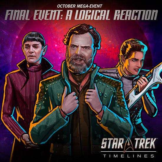 Star Trek Timelines A Logical Reaction