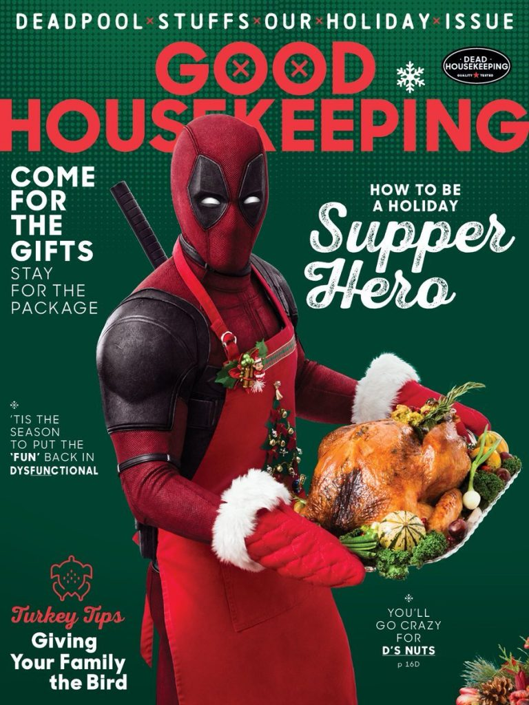 Deadpool 2 Good Housekeeping Cover