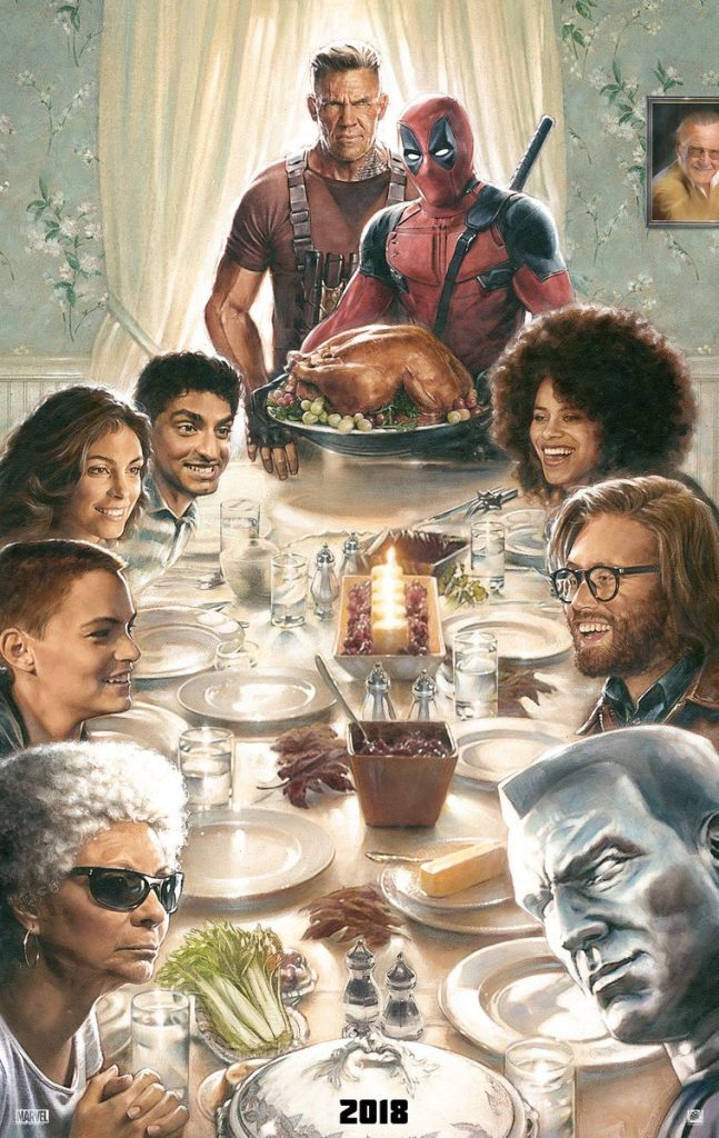 Deadpool 2 Teaser Poster Freedom From Want Norman Rockwell Marvel