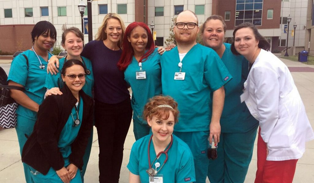 Jeri Ryan The Relic Jefferson Community And Technical Colleges Downtown Campus