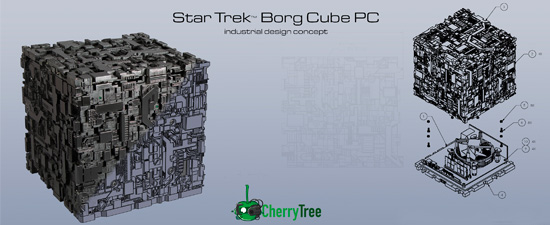 My Cherry Tree Borg Mini PC Concept