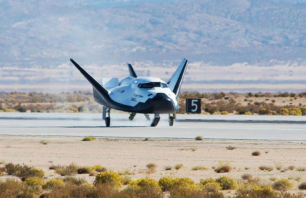 NASA Sierra Nevada Corporation Dream Chaser Landing Free-Flight Test November 2017