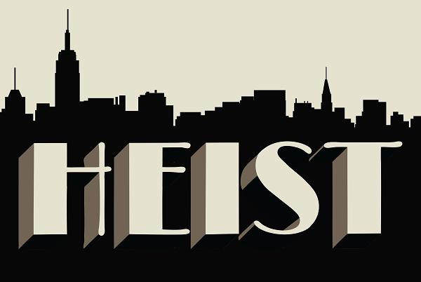 PAXAus Heist Logo