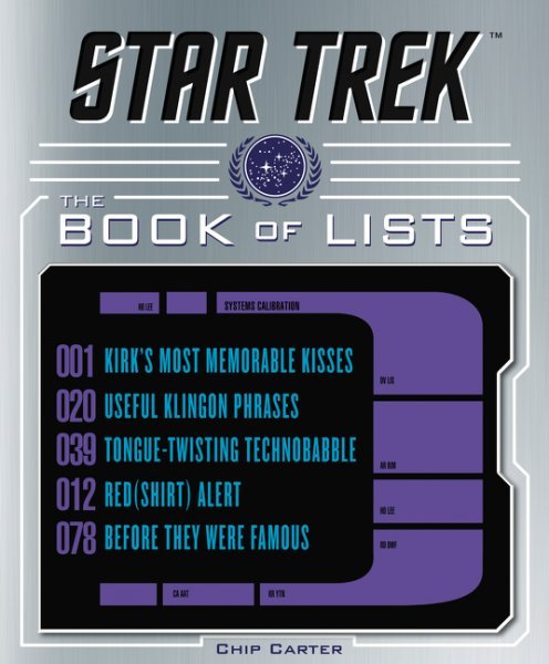 Star Trek Book Of Lists Cover