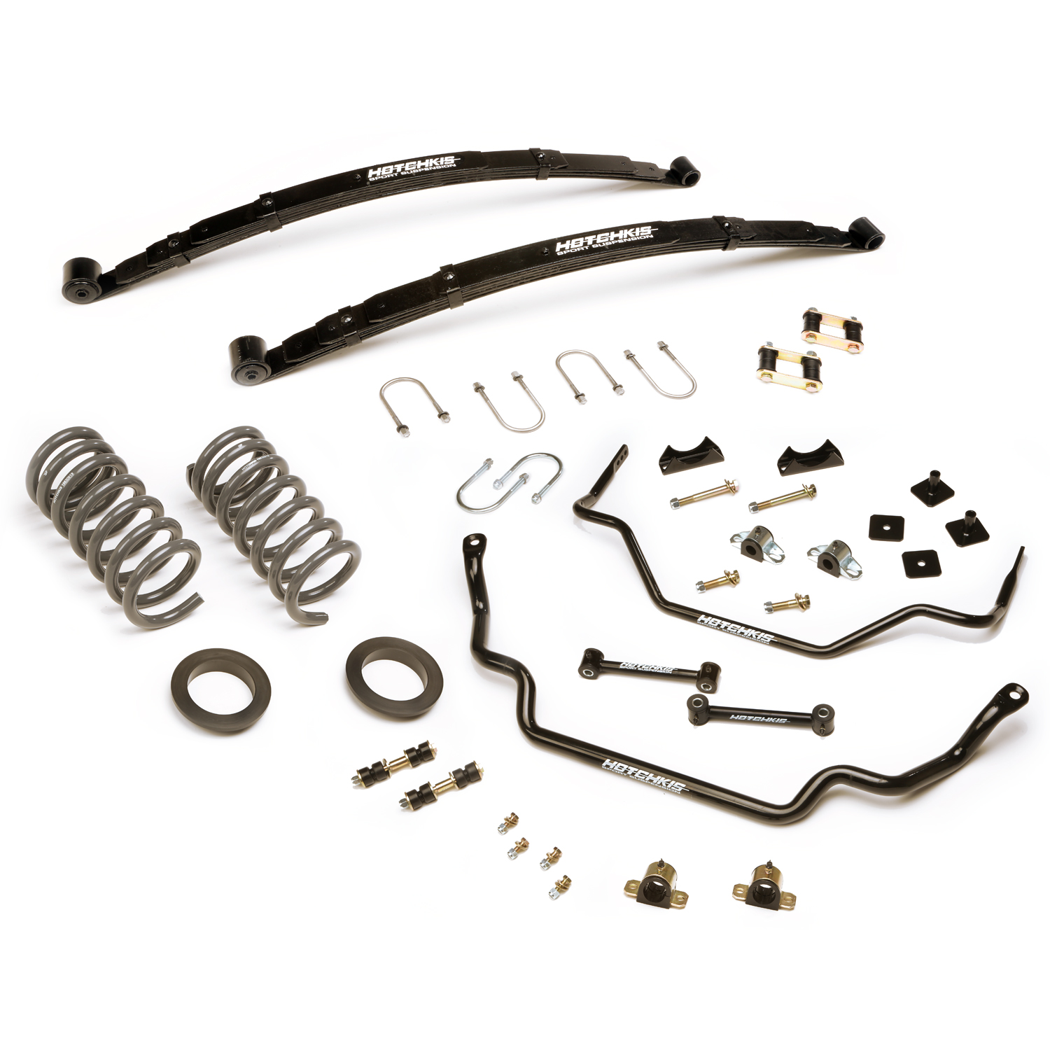1964-1966 Ford Mustang TVS Suspension System, Coupe, Fastback, Convertible SB
